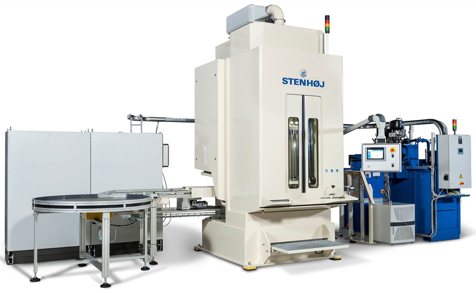 Broaching Machine Automation Solution Stenhoj Hydraulik)